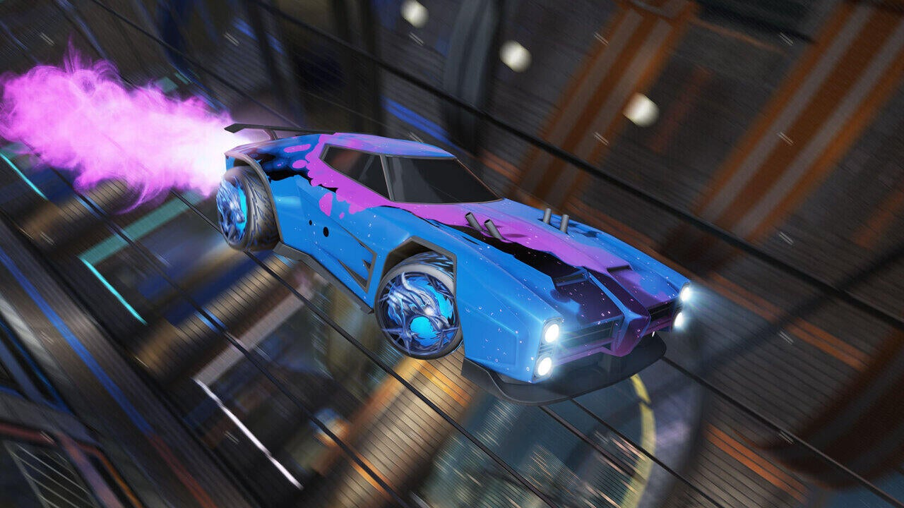 Almagest Animated Decal | Dire Wolf Wheels | Candyfloss Boost
