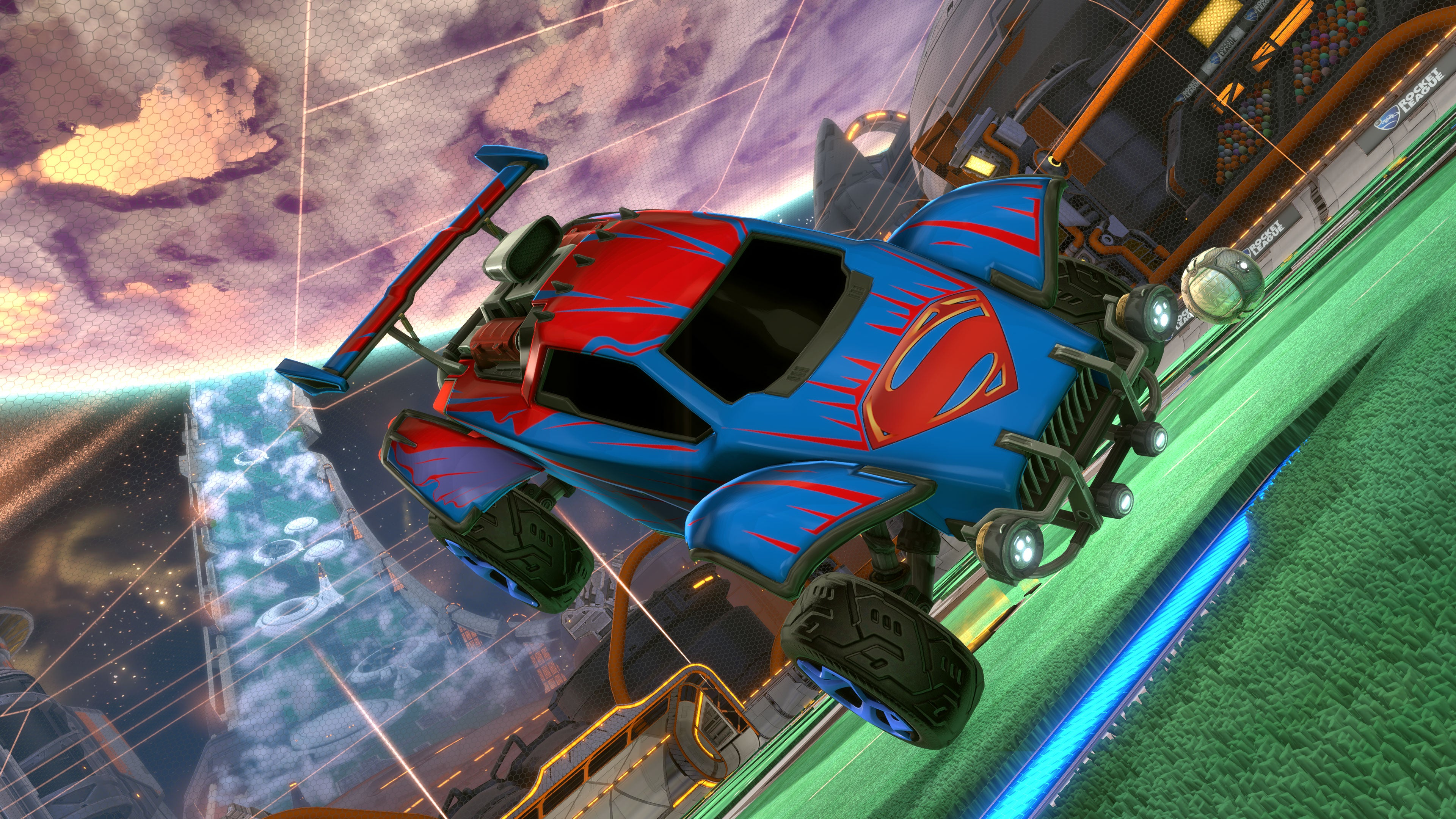 dc super heroes dlc coming in march rocket league