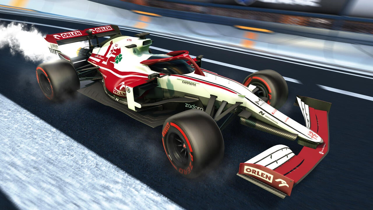 Alfa Romeo 2021 Decal