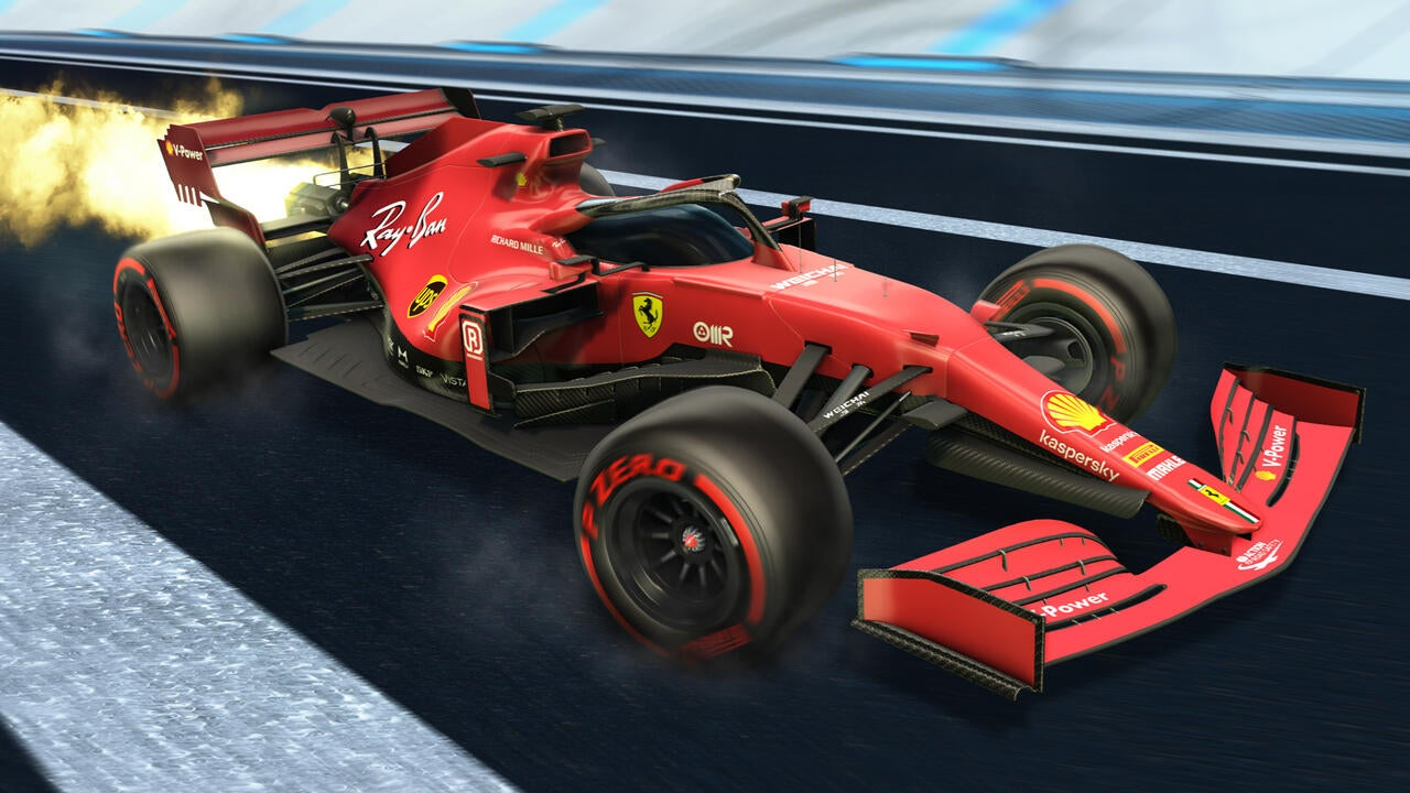 Ferrari 2021 Decal