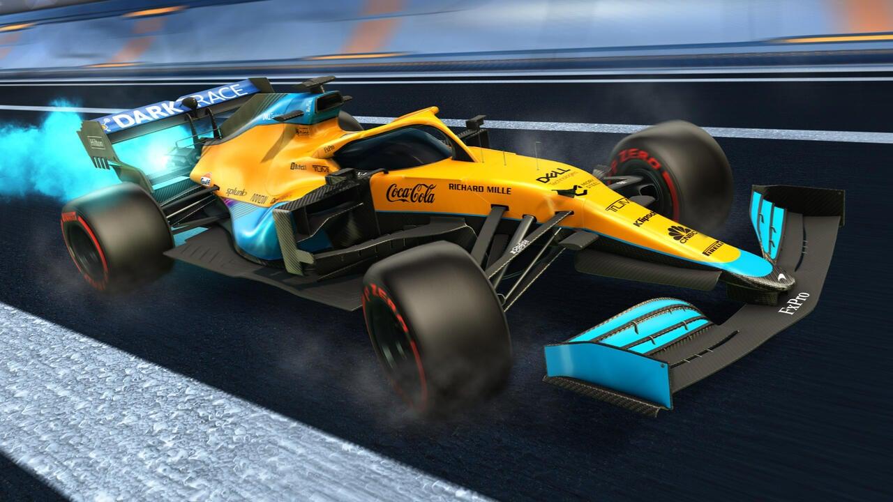 McLaren 2021 Decal
