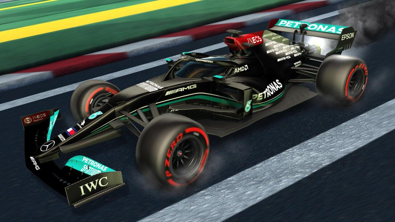 Mercedes-AMG Petronas 2021 Decal