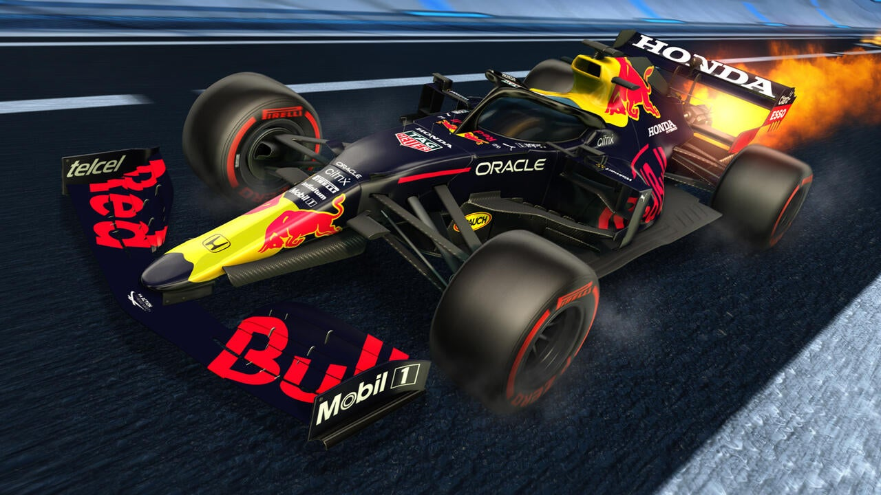 Red Bull 2021 Decal