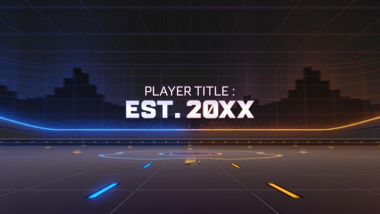 Est. 20XX Title