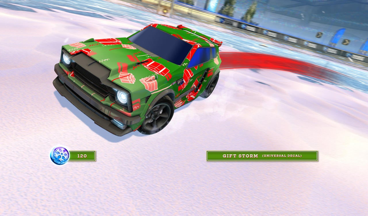 Gift Storm Decal