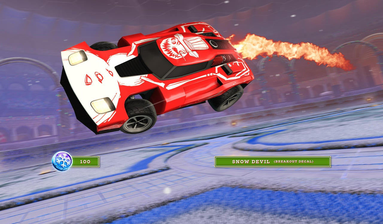 Snow Devil Breakout Decal