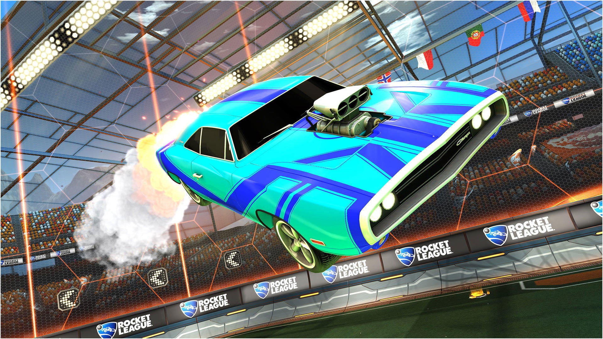 how to get skyline rocket league