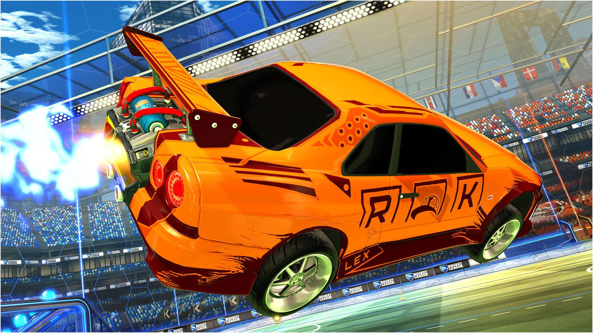 Dodge Ice Charger >> Fast & Furious | Rocket League® - Official Site