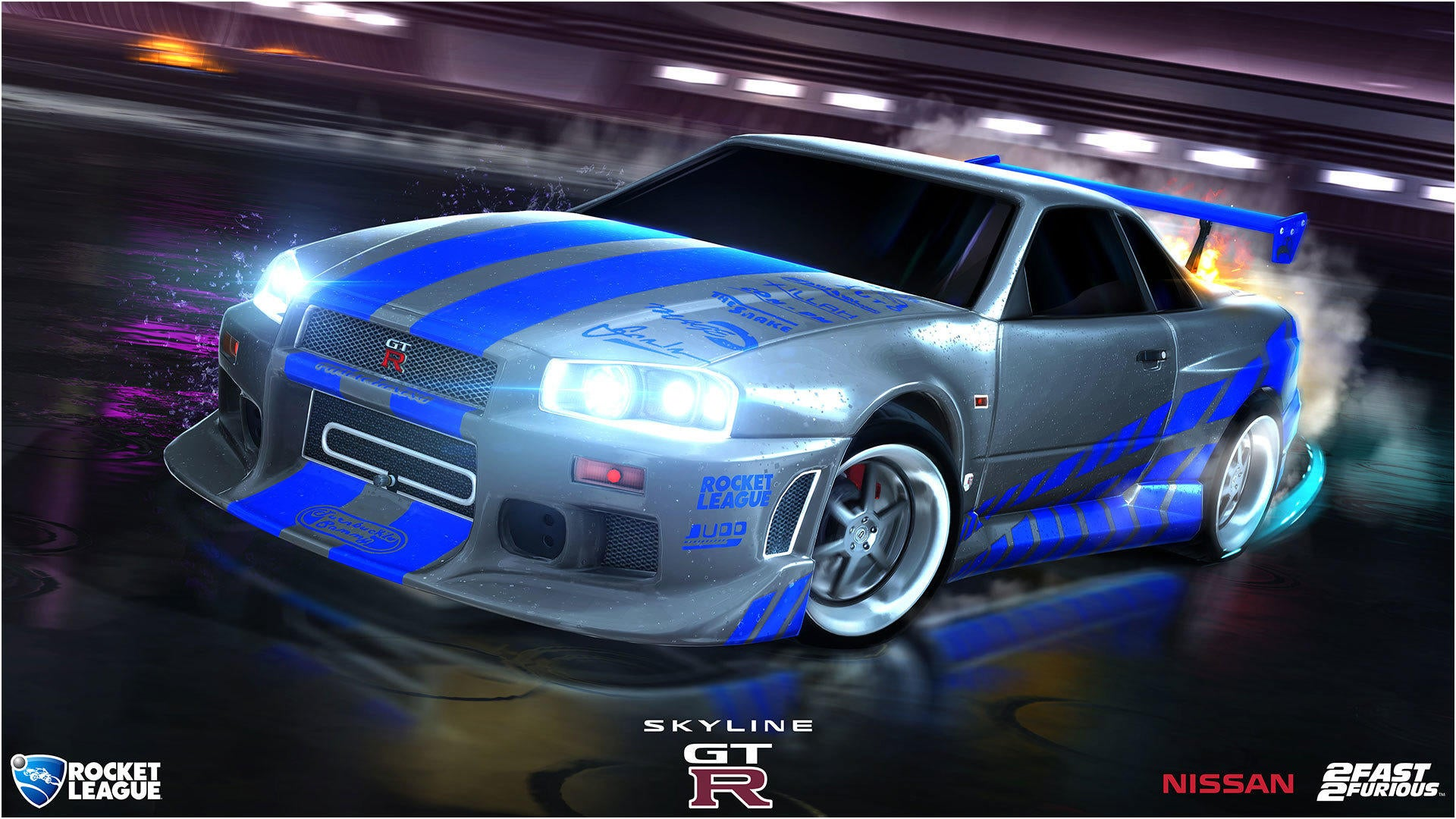 Fast Furious Rocket League Official Site