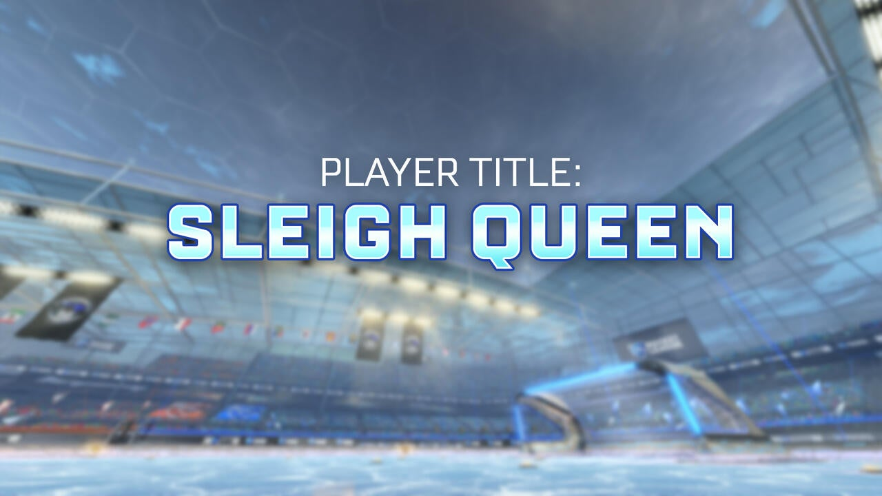 Sleigh Queen Player Title