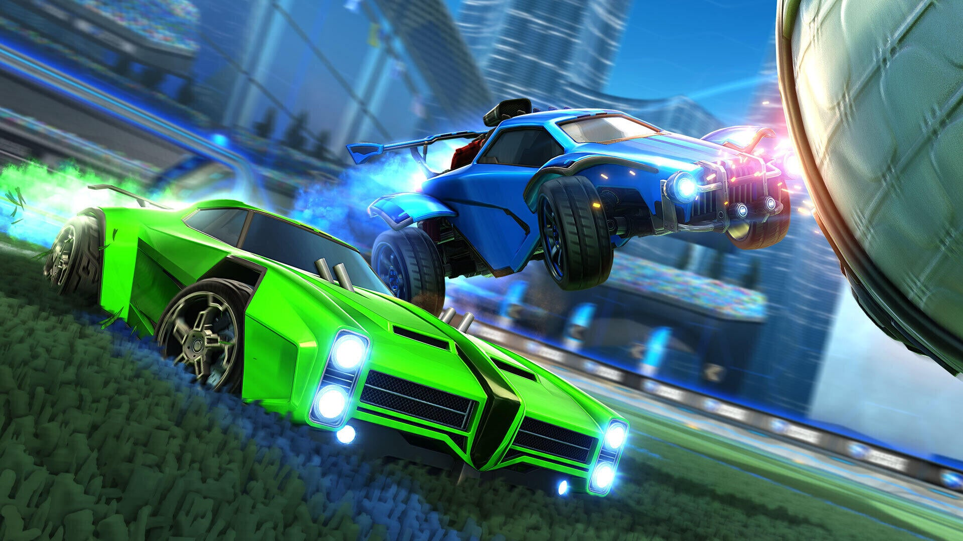 Play Rocket League on Xbox Series X, Series S, and PlayStation 5 Image