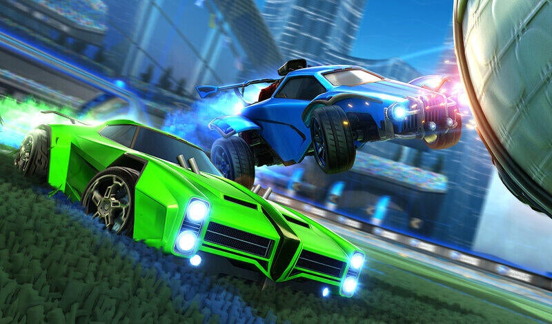 Rocket League auf Xbox Series X, Series S und PlayStation 5 article image