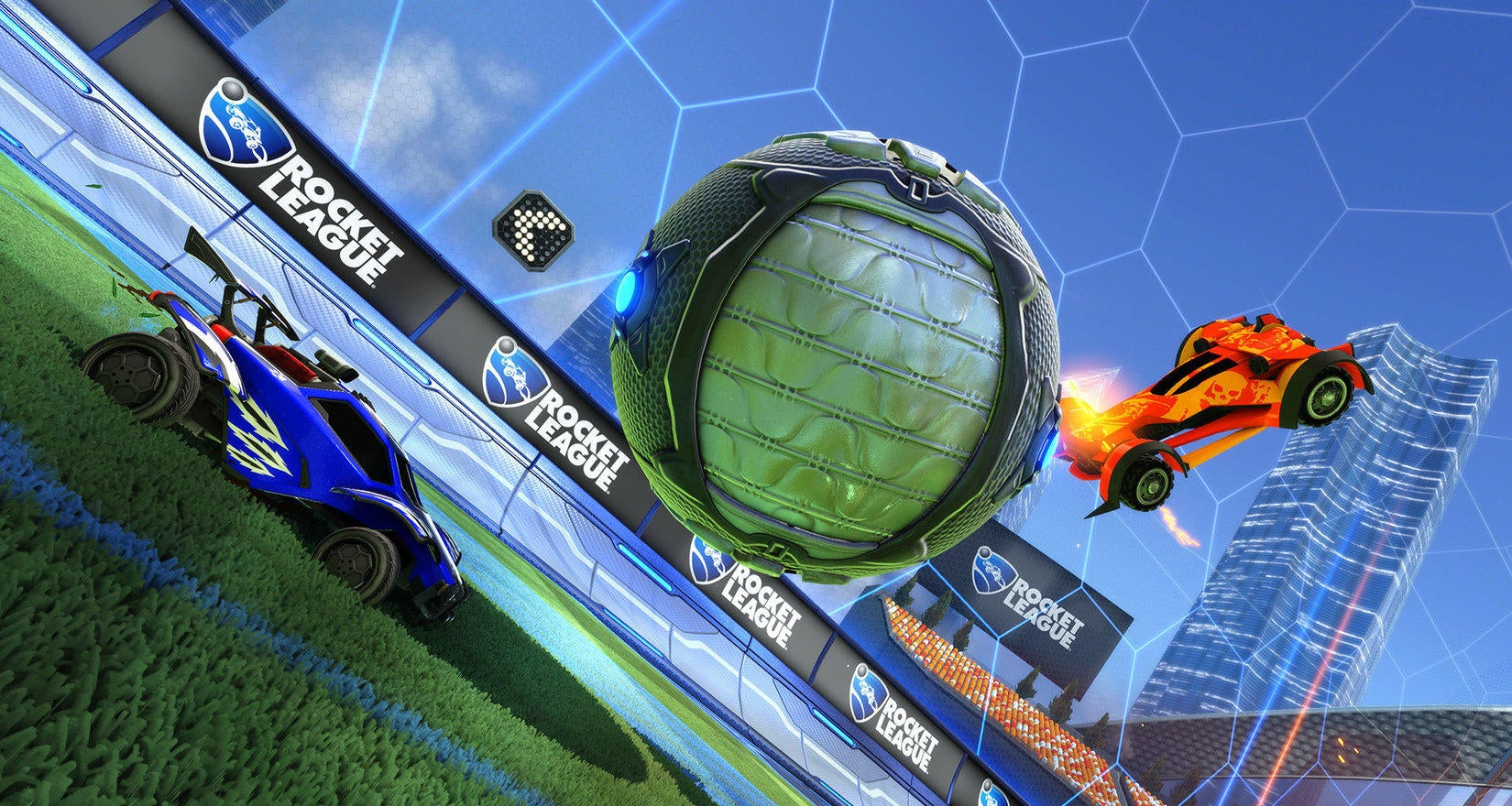WWE Items Coming to Rocket League this Spring Image