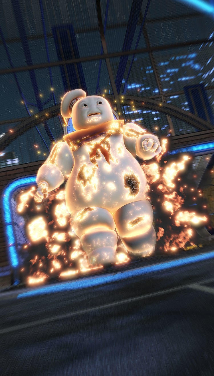 Stay Puft Goal Explosion
