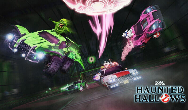 Celebrate Ghostbusters in Rocket League's Haunted Hallows article image