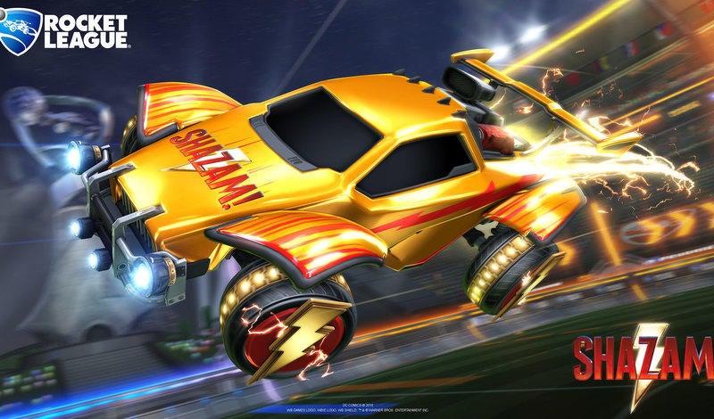 Shazam Items Soar Into Rocket League  article image