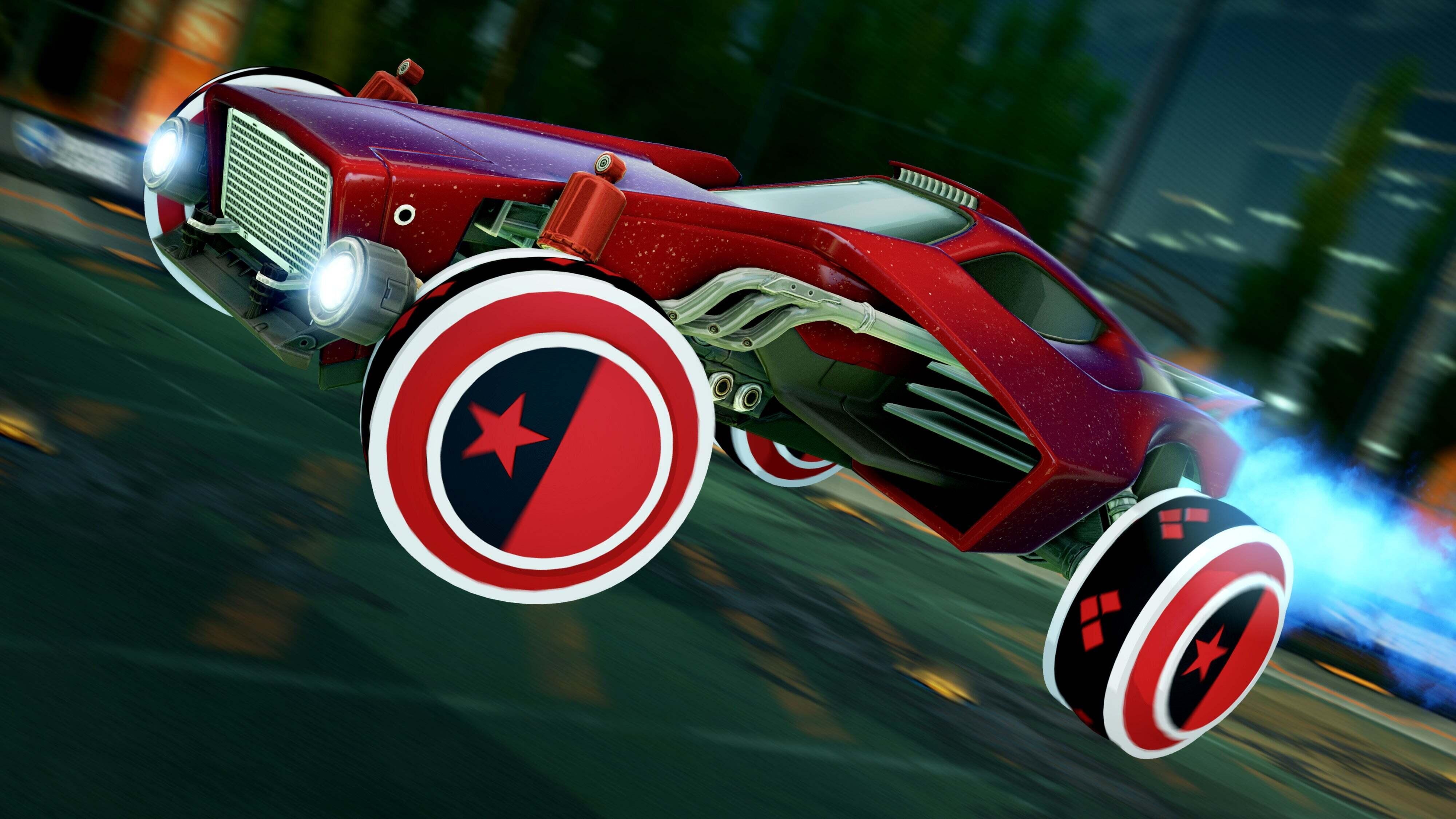 Harley Quinn Wheels