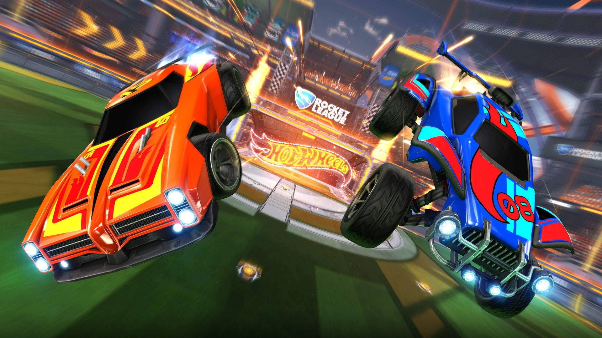 Hot Wheels Rocket League RC Rivals Set Zooms Into Stores