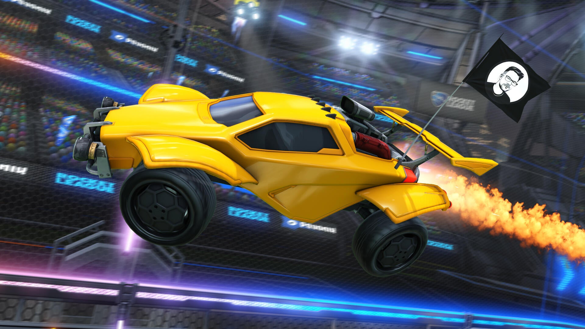 New Community Flags Coming To Rocket League Image