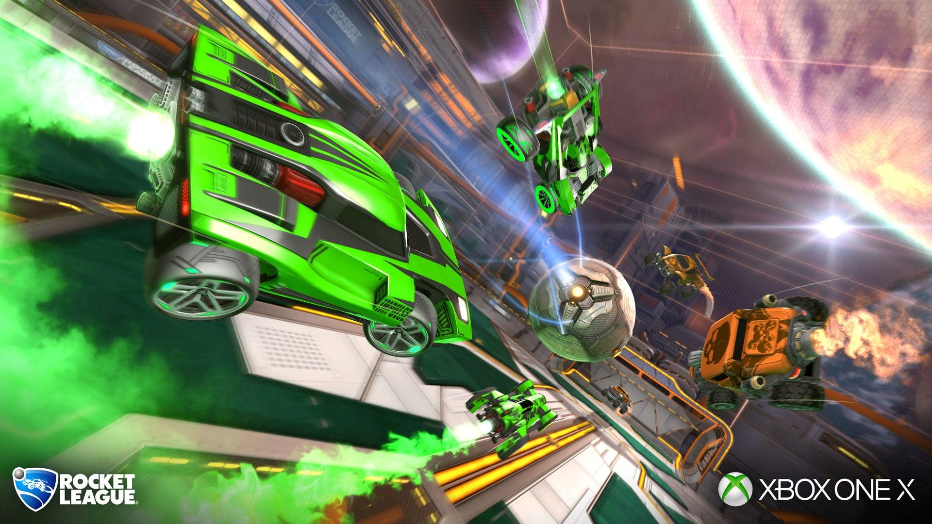 Rocket League Recibe Por Fin El Parche De Mejora Para Xbox One X