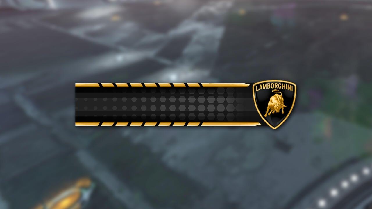 Lamborghini Player Banner