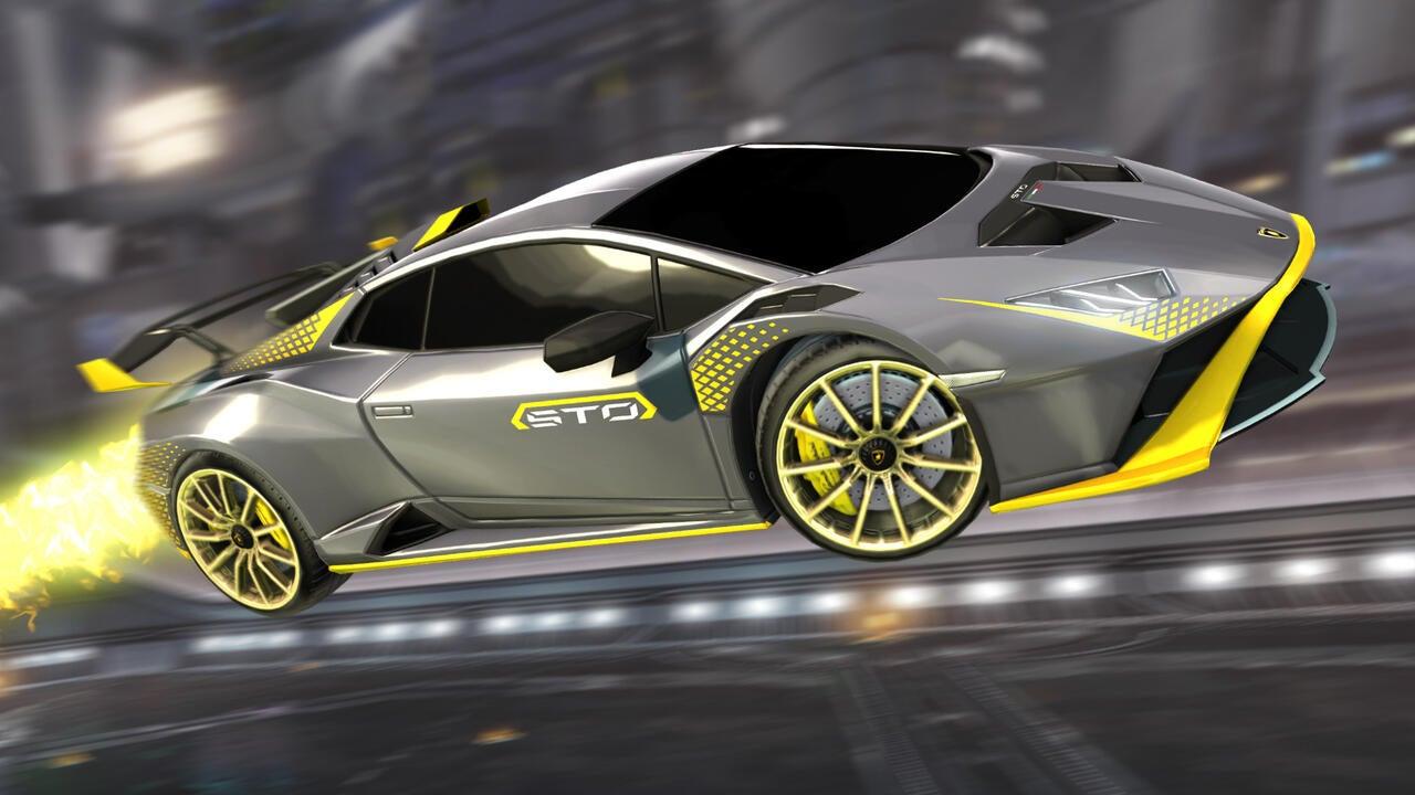 Lamborghini Huracán STO Decal