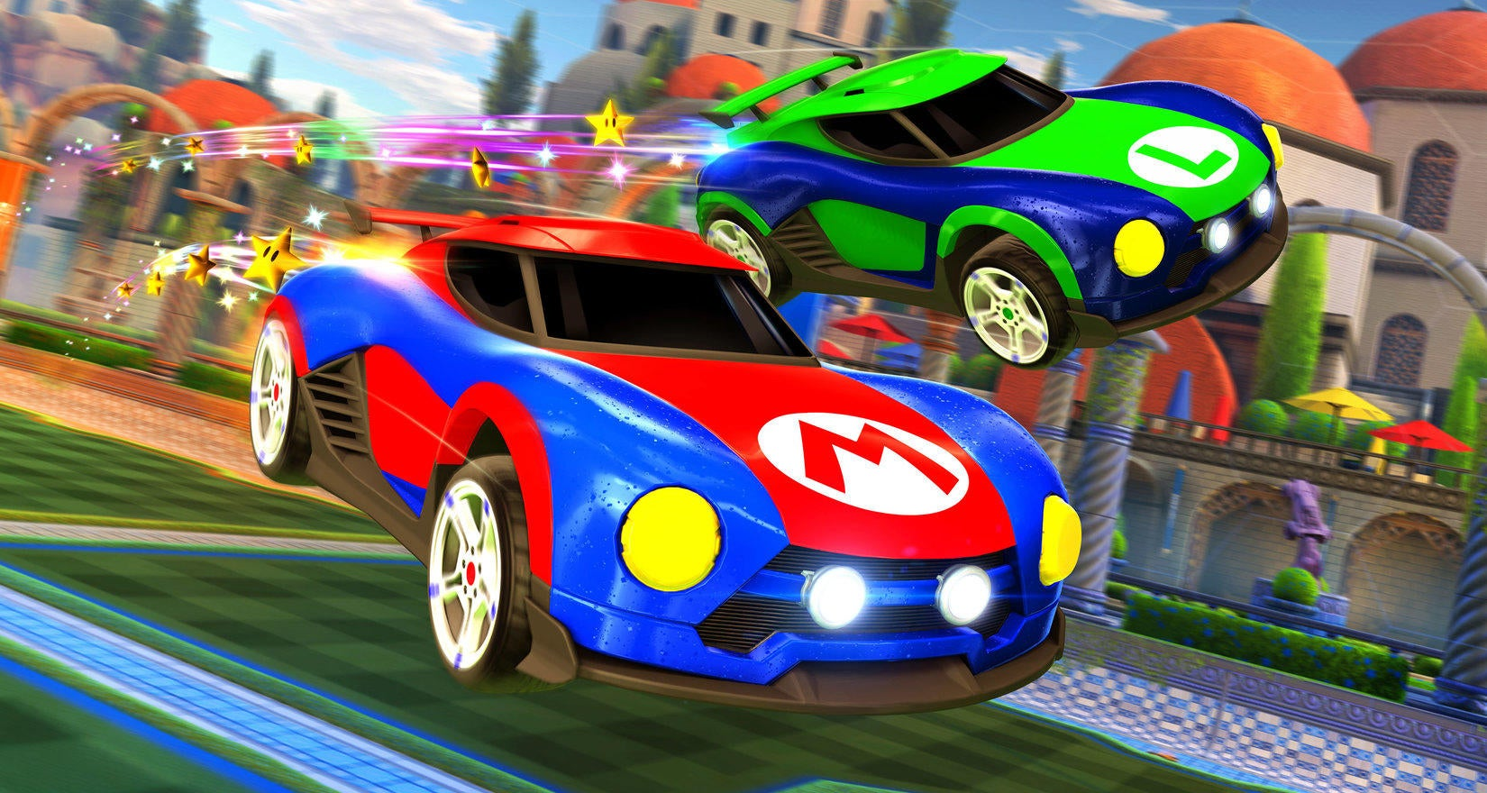 Image result for rocket league switch