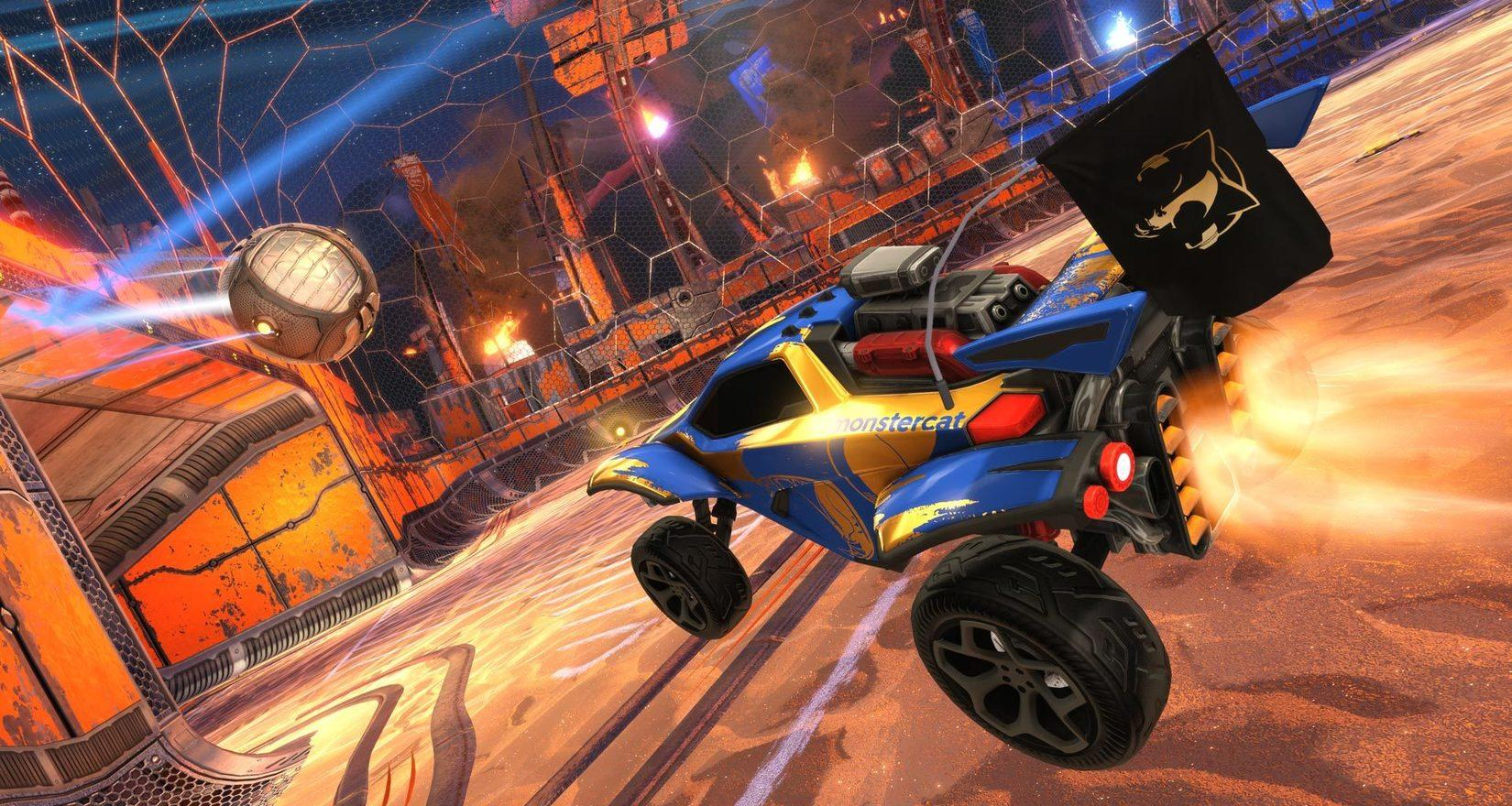 Rocket League x Monstercat Vol. 2 Coming in Spring Update Image