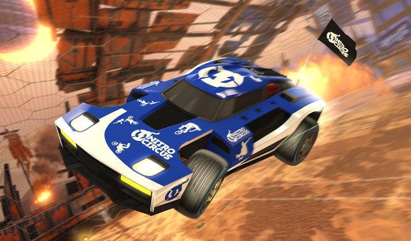 Hot Wheels Rocket League RC Rivals Set Zooms Into Stores
