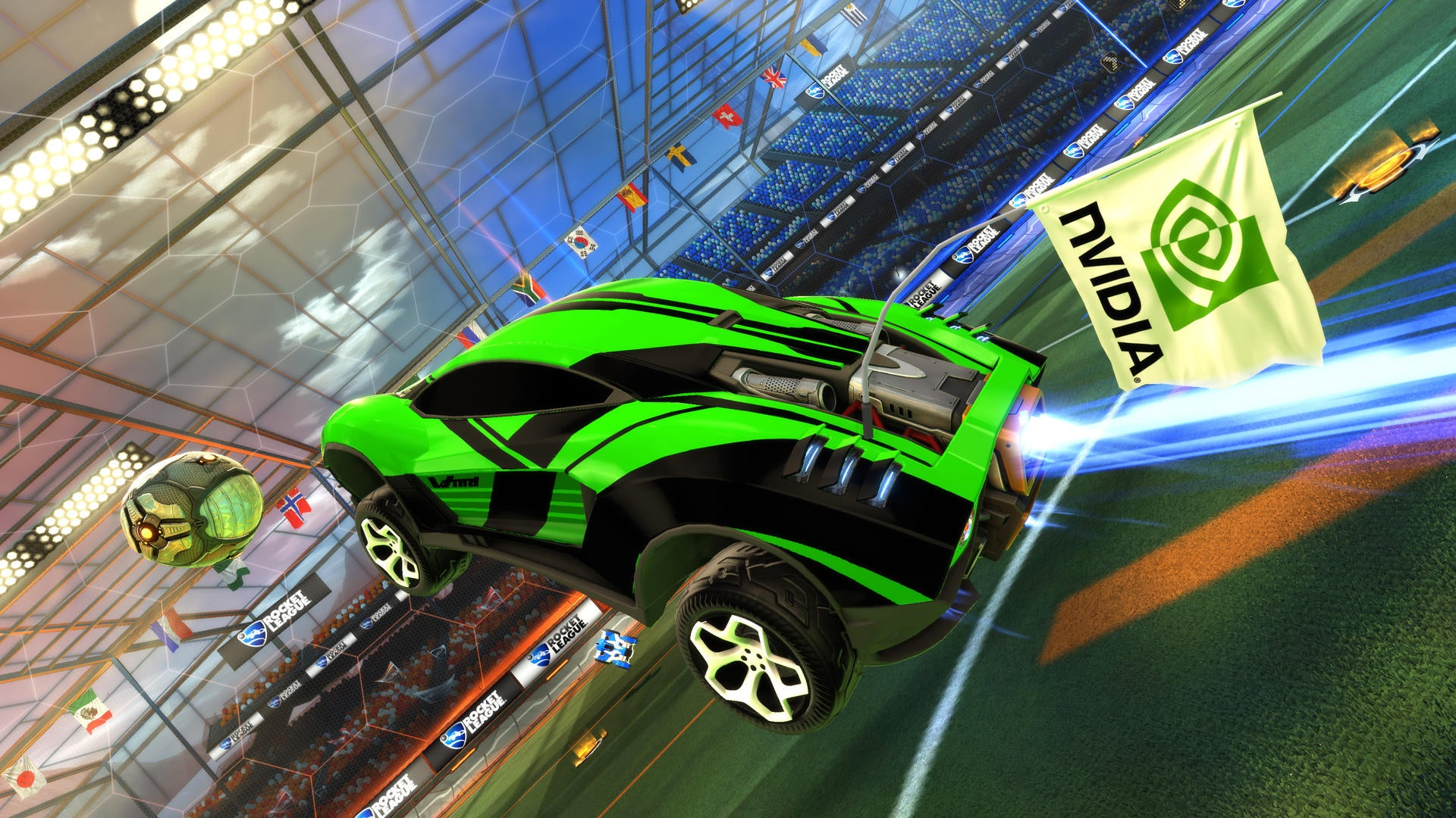 Rocket League Comes FREE With Select NVIDIA GeForce Products Image
