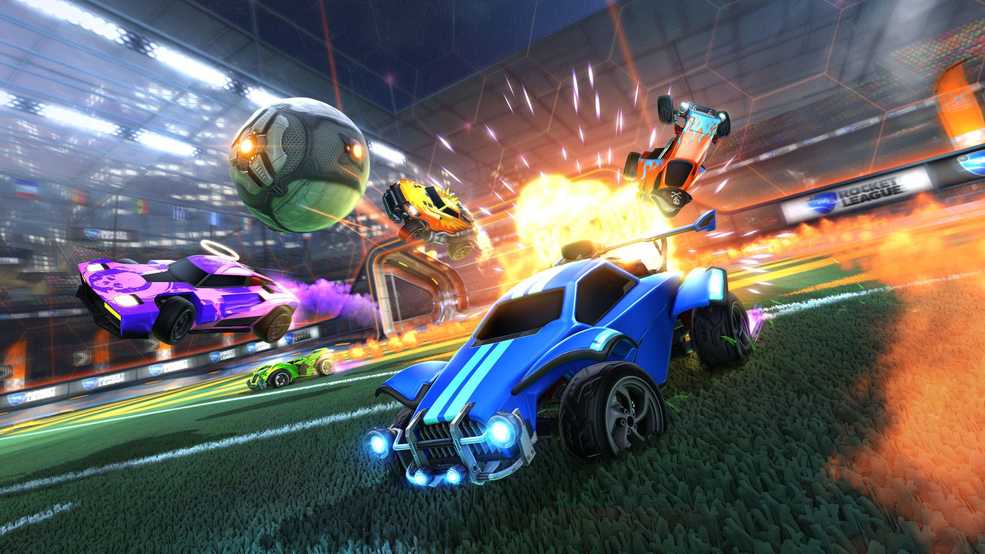 Code de conduite de Rocket League Image