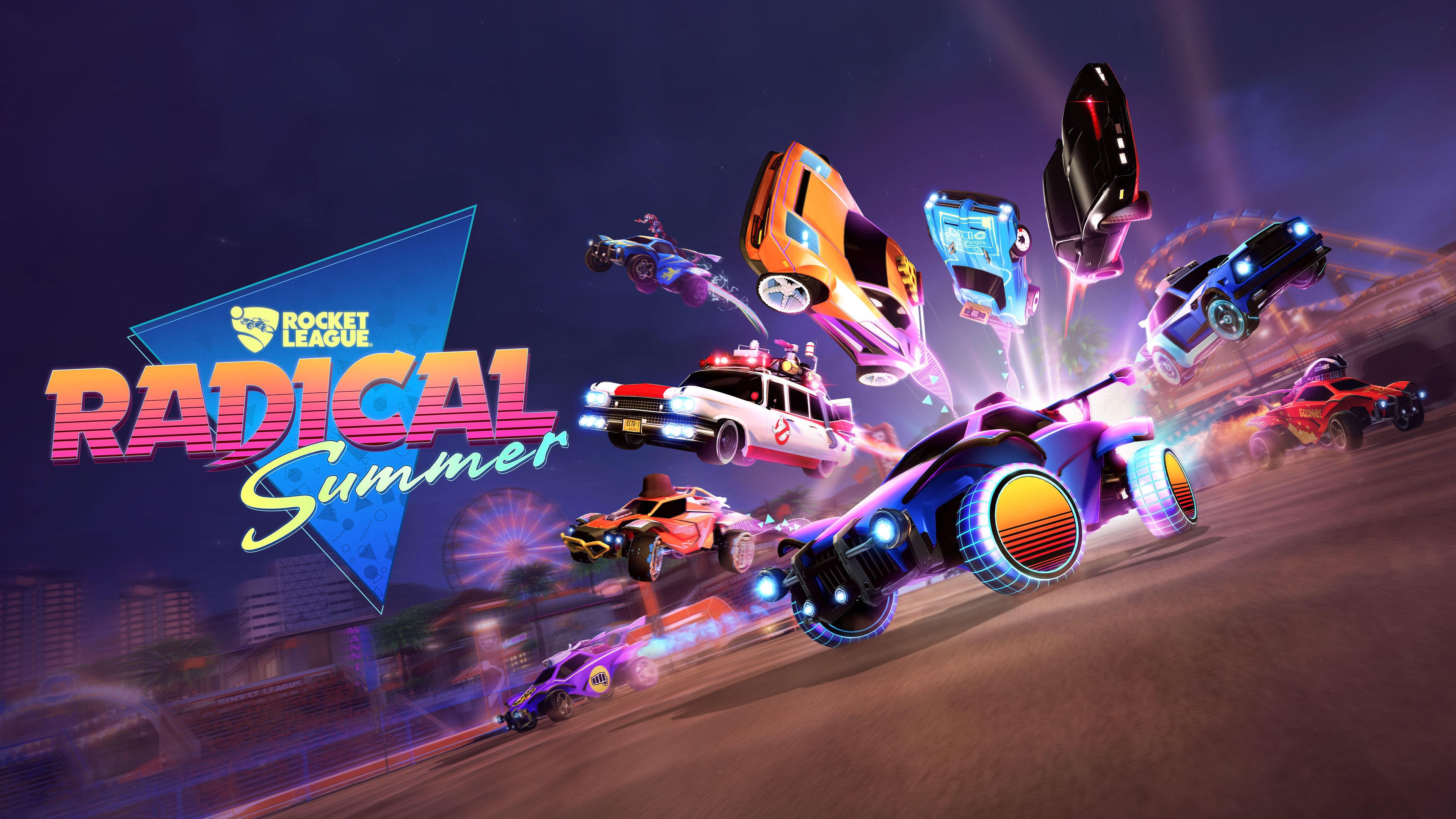 Get Ready for Radical Summer | Rocket League® - Official Site