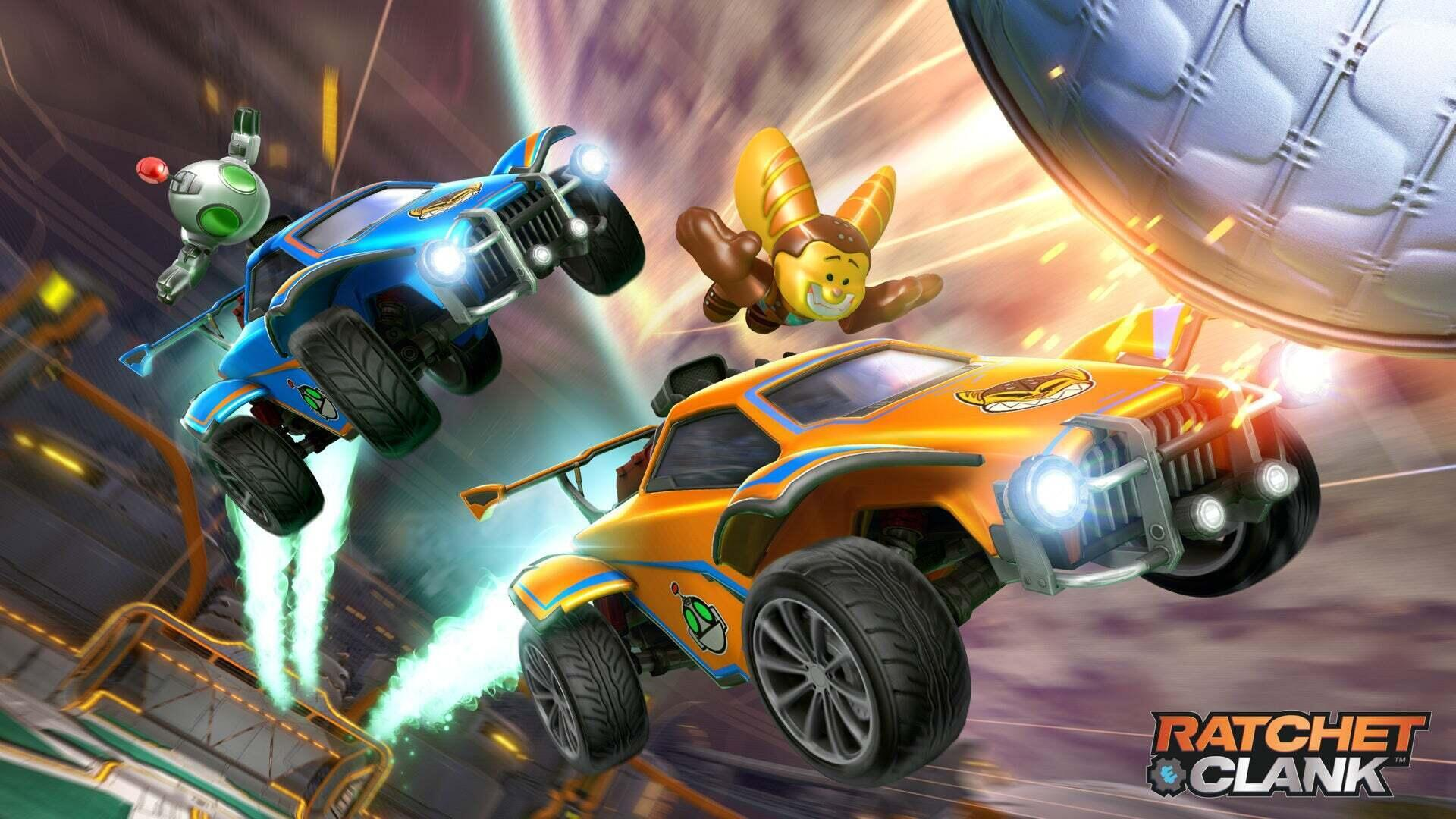 Ratchet and Clank Blast into Rocket League Image