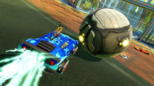 Rocket Pass 5 Gameplay Screenshot - Dominus with Bike Rack