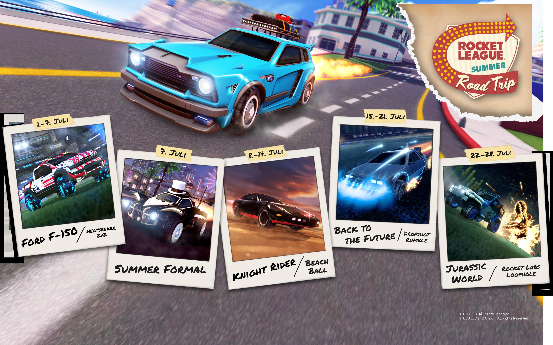 Rocket League Summer Roadtrip