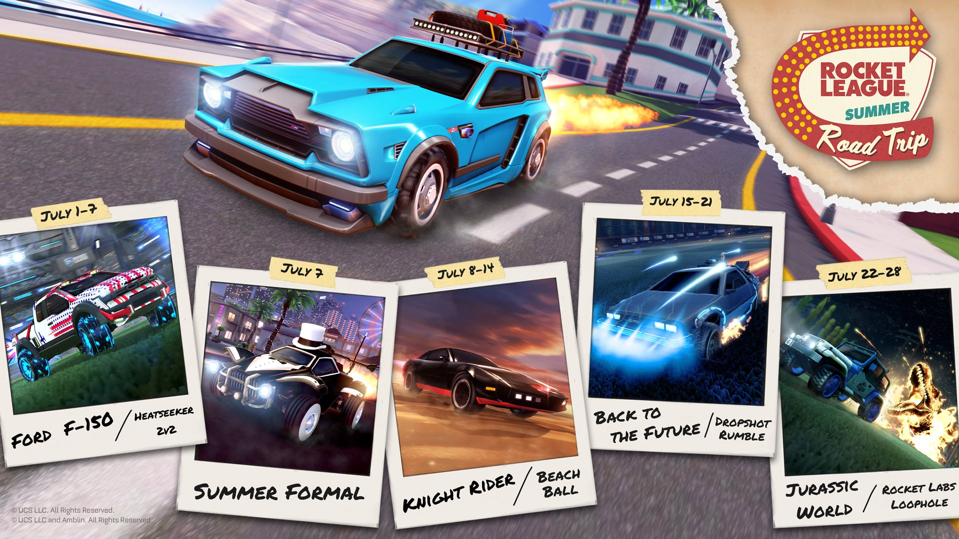 Summer Road Trip Infographic