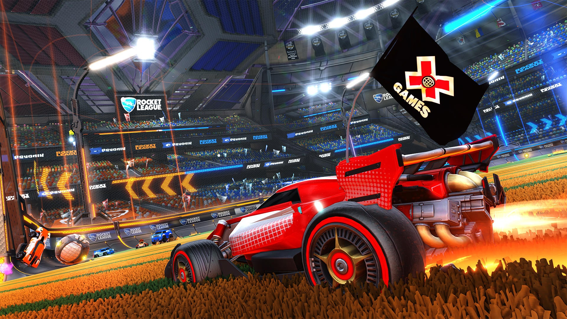 Rocket League Pros Take on the Summer X Games Image