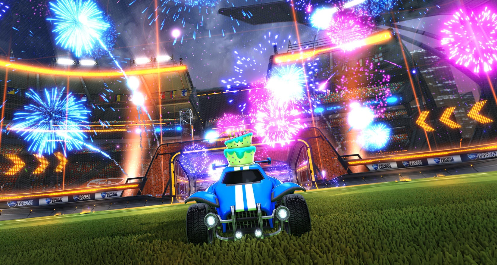 Rocket League 2nd Birthday Party Image