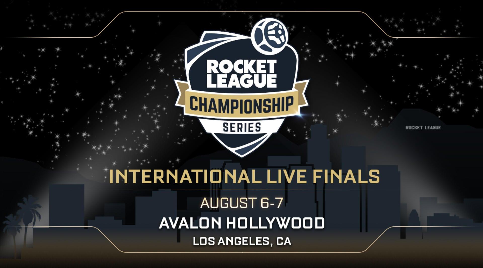 RLCS Live Finals Go Hollywood! Image