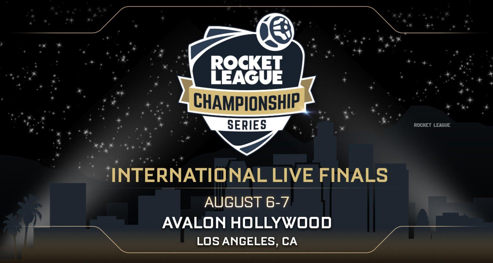 RLCS Live Finals Go Hollywood! Image