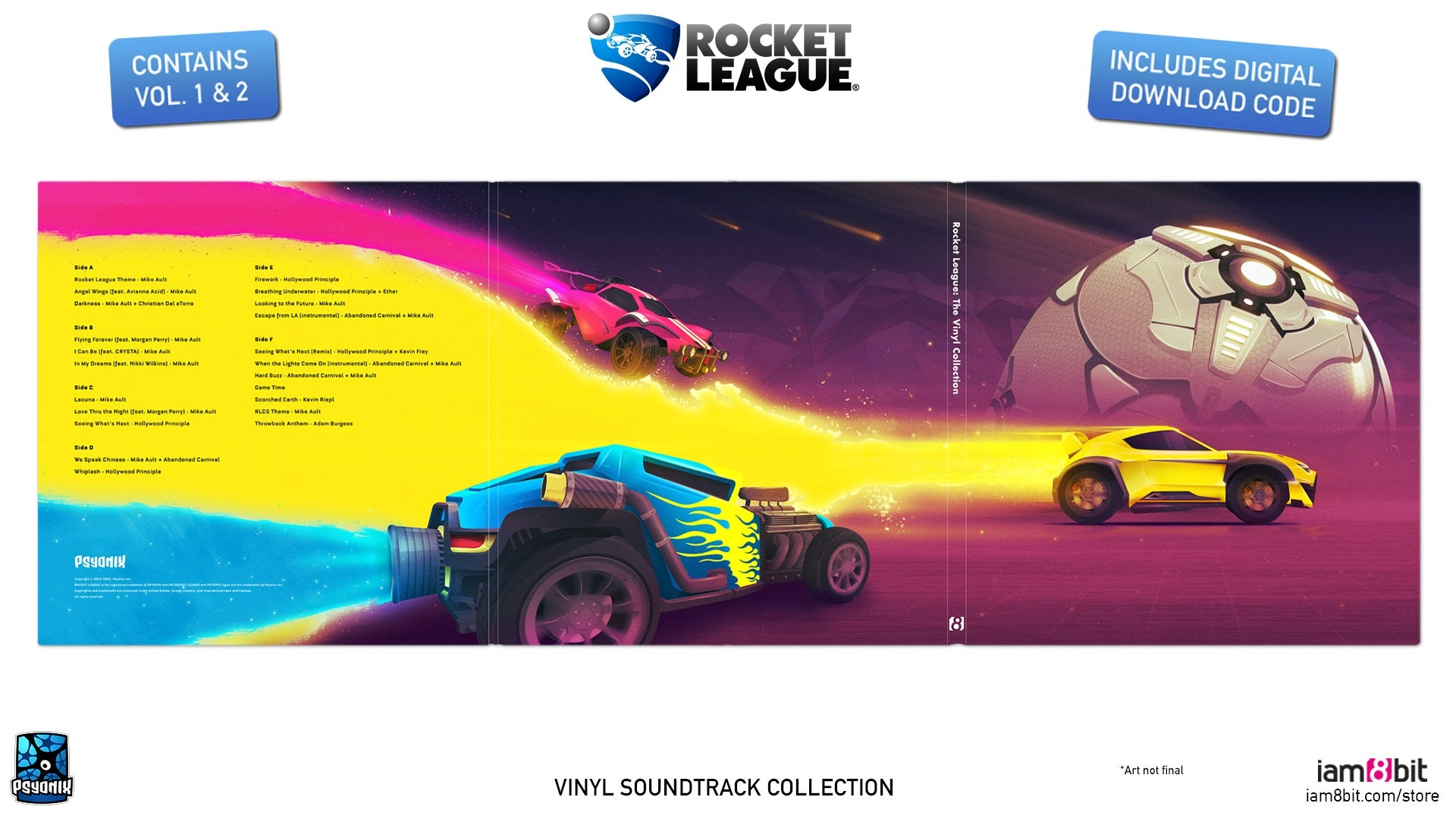 Vinyl Collection Available For Pre Order Rocket League