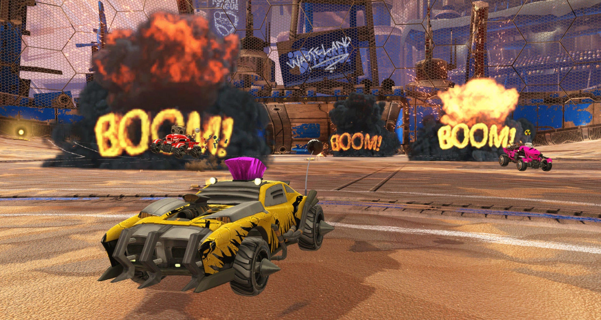 Patch Notes V1 18 (PC/PS4) / Title Update 6 (XBOX ONE)   Rocket