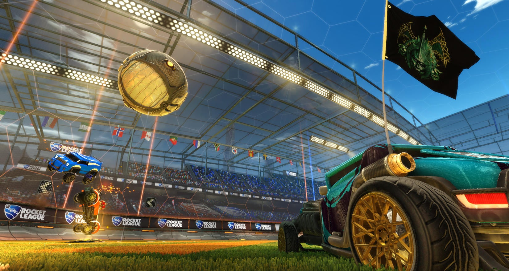 Nosgoth Flags in Rocket League Image