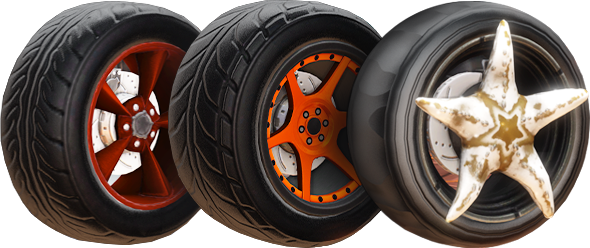 Painted Wheels item