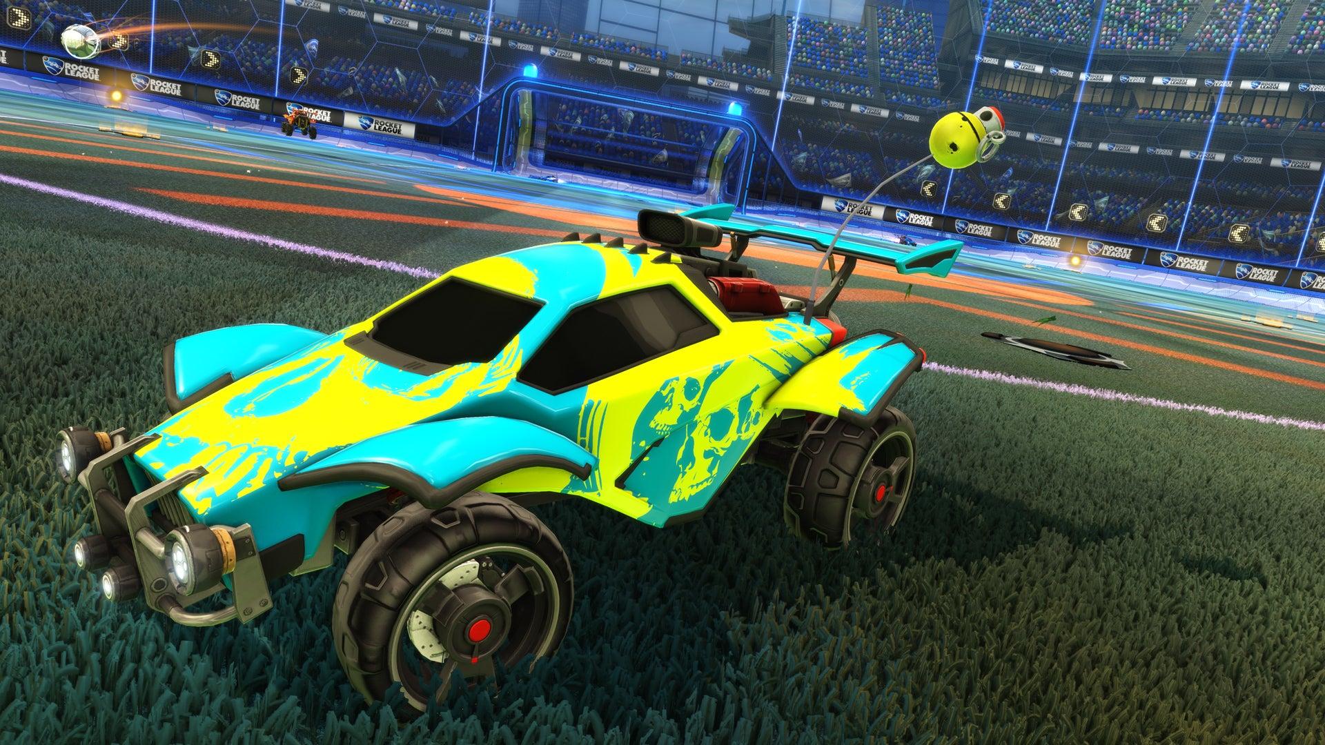 Rocket League Garage >> Worms Invasion Rocket League Official Site