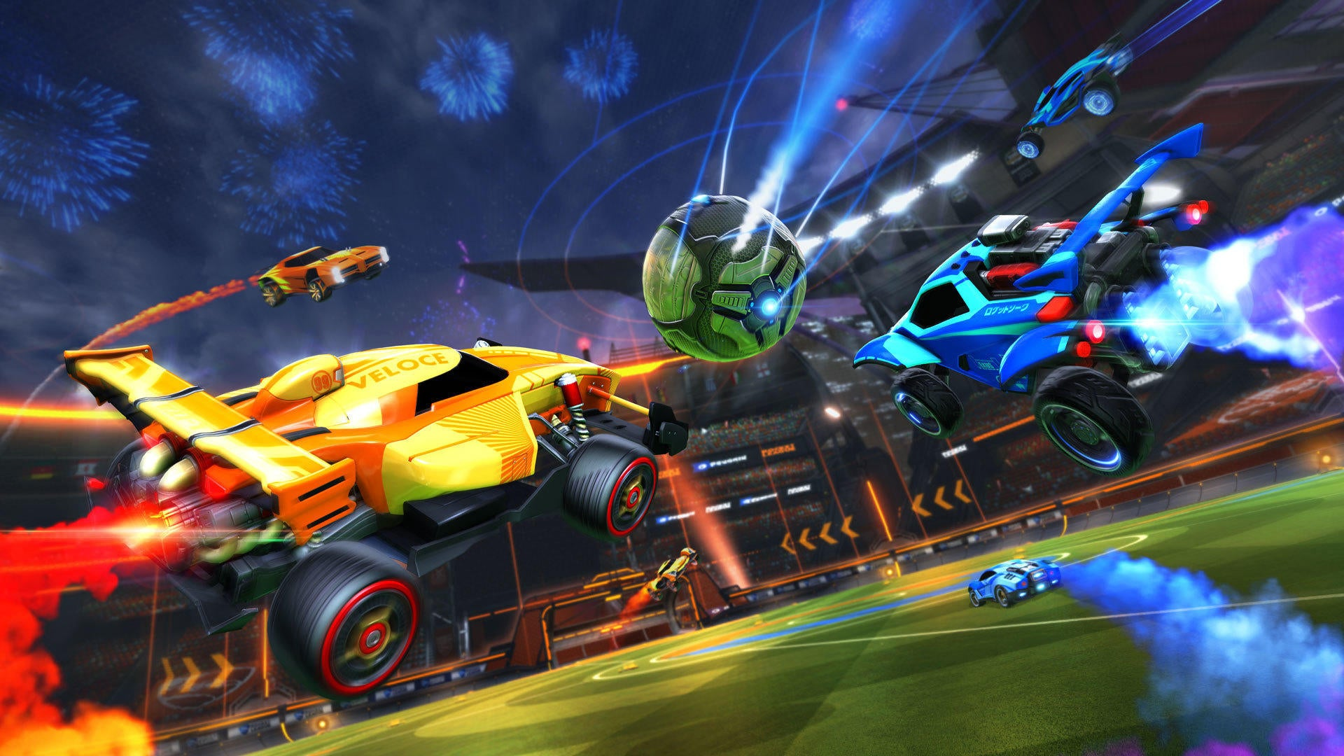 Rocket Leagues 2nd Birthday And Double Drop Rates Rocket